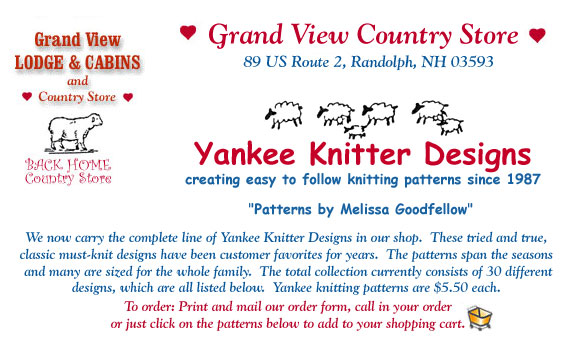 Yankee Knitters Patterns Adults and Children's Sweaters, Mittens, Socks, Hats